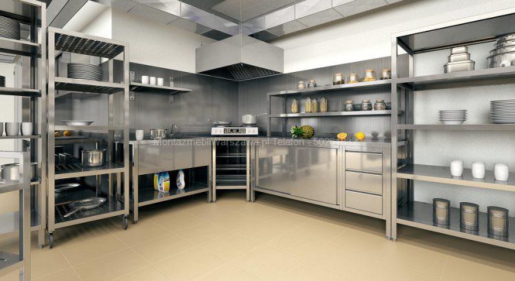 warszawa instalacja meble kuchenne restauracja