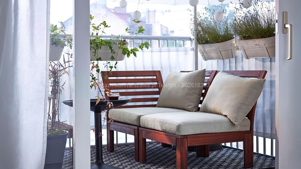 warszawa instalacja meble na balkon