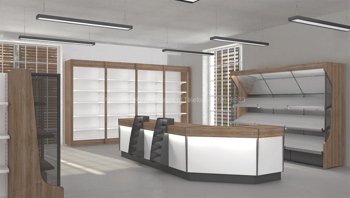warszawa instalacja mebli dla sklepu butiku
