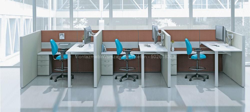 Warszawa montaż mebli biurowych IKEA