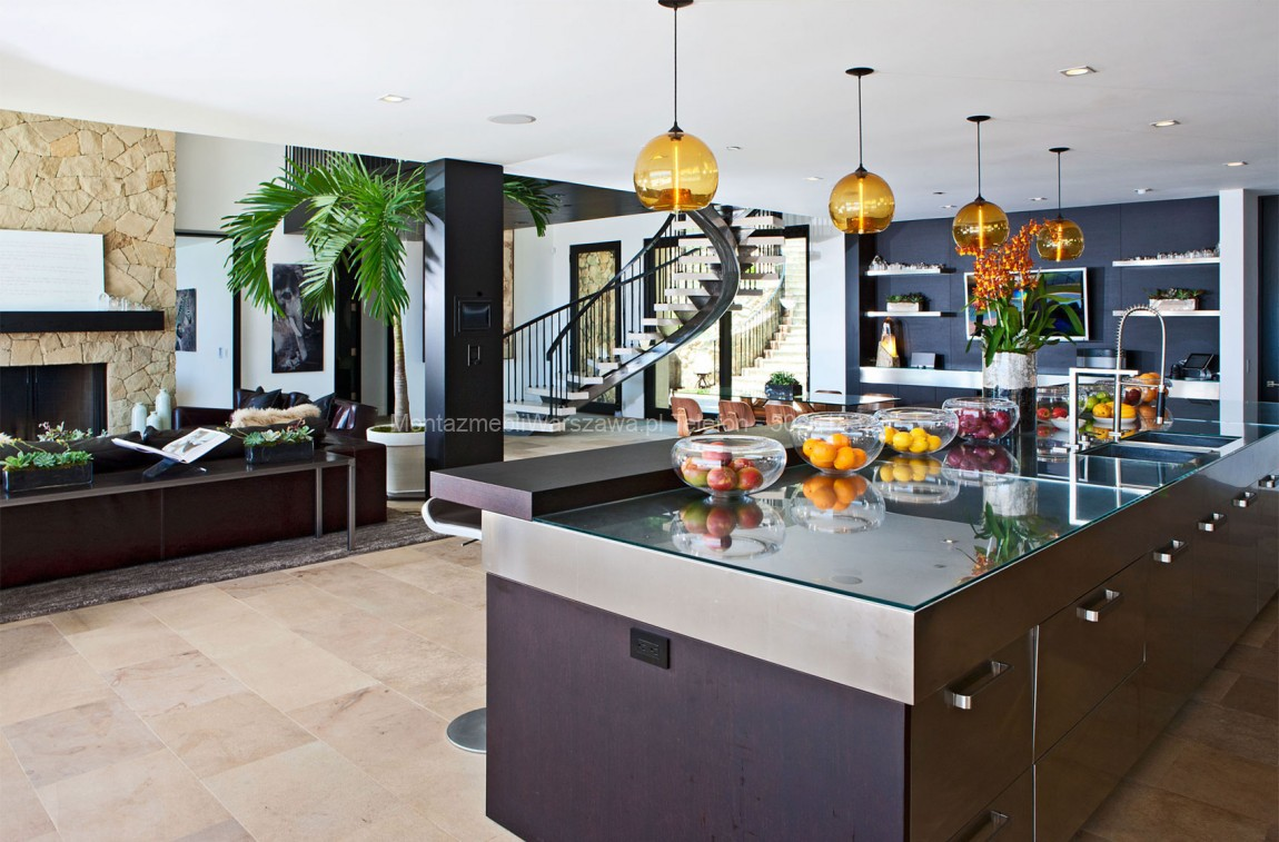 warszawa montaż dużych mebli kuchennych