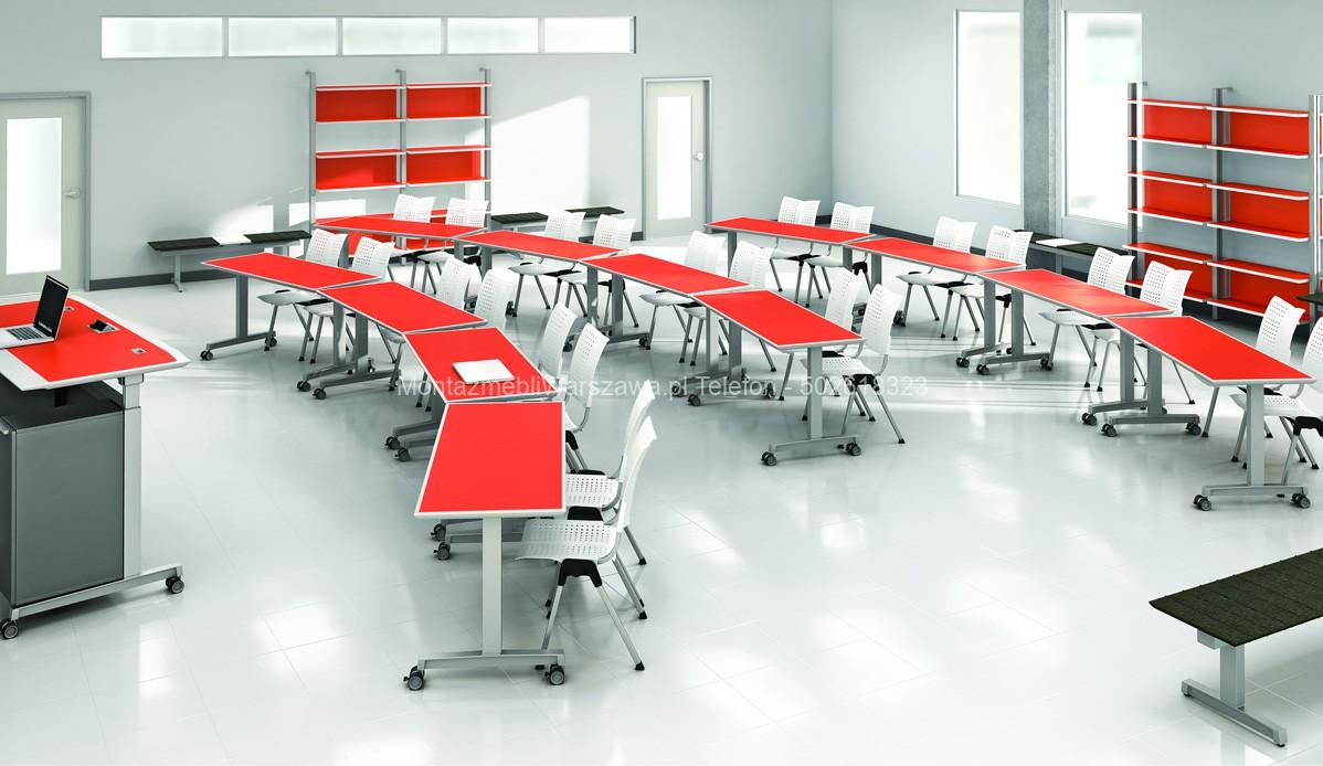 warszawa składanie montaż mebli dla szkół