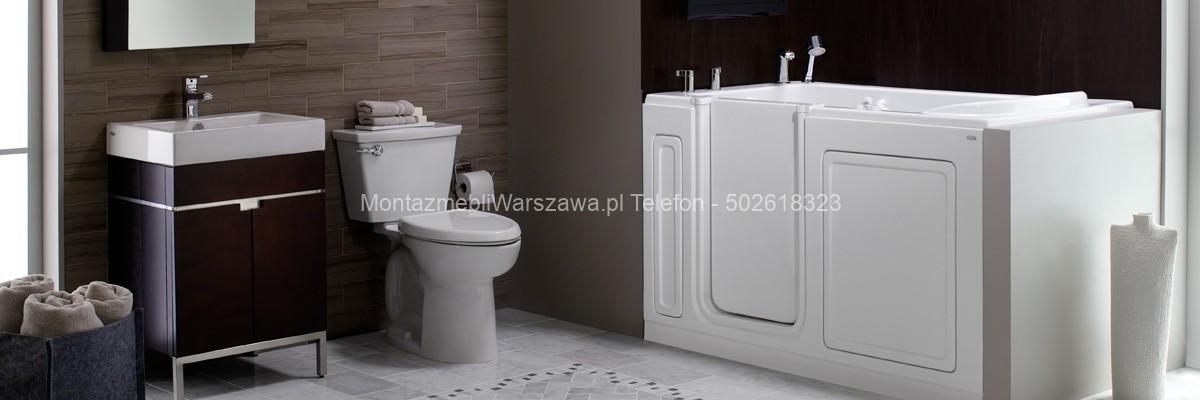 warszawa montaż mebli do toalety IKEA